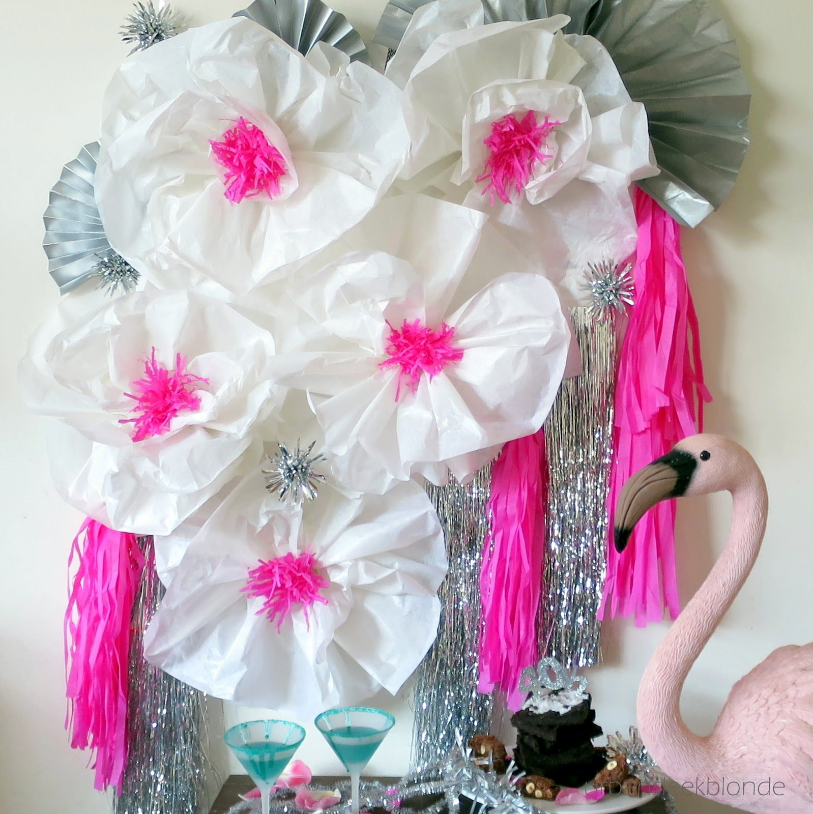 Large Tissue Paper Flowers Diy Tutorial Damn Everything But The