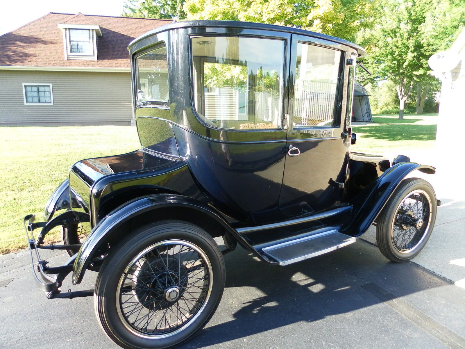 Detroit Electric Dedicated To The Early Electric Car And My 1914