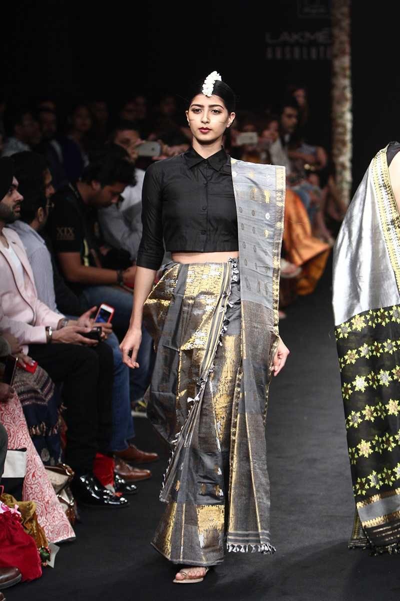 Sanjukta Dutta Collection Lakme Fashion Week Trendy Blouse Designs Fashion