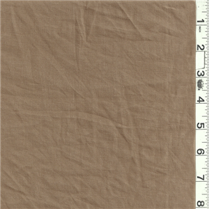 "*4 1/2 YD PC--Cocoa Linen - 11708-C1 - Solid Cocoa Brown Lightweight Linen Fabric Suitable for Blouses, Dresses & Suits 100% Linen 58"" wide Hand Wash Cold or Dry Clean Usually $25.00/yd total $39.75"
