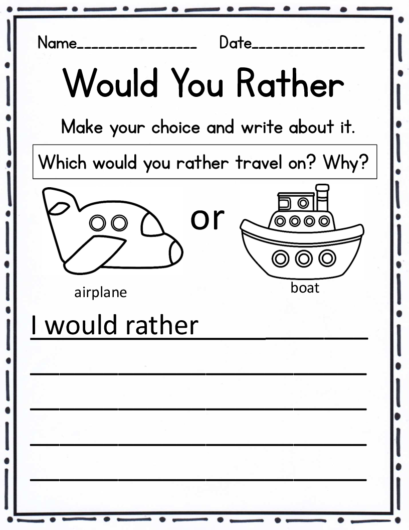 Workbooks transition worksheets for middle school : how to explain opinion writing to kinder - Google Search | box ...