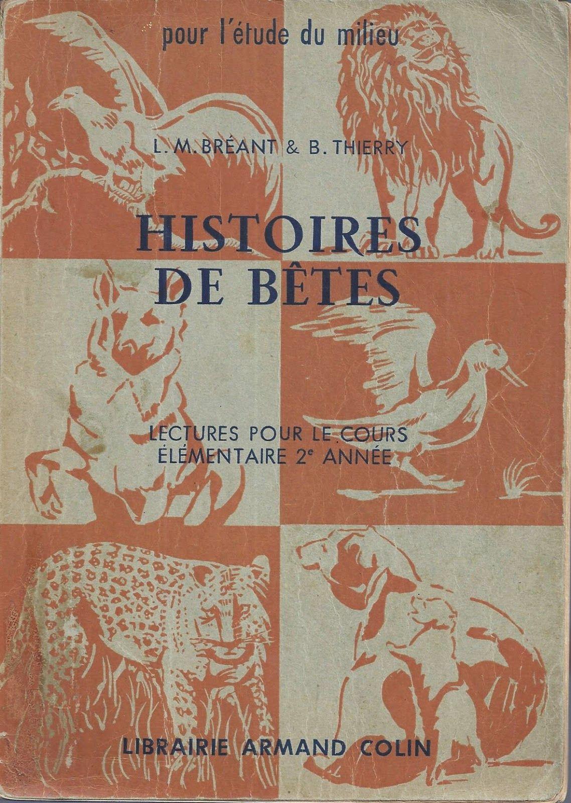 Breant Thierry Histoire De Betes Lectures Ce2 Lecture Ce2 Lectures Ce2