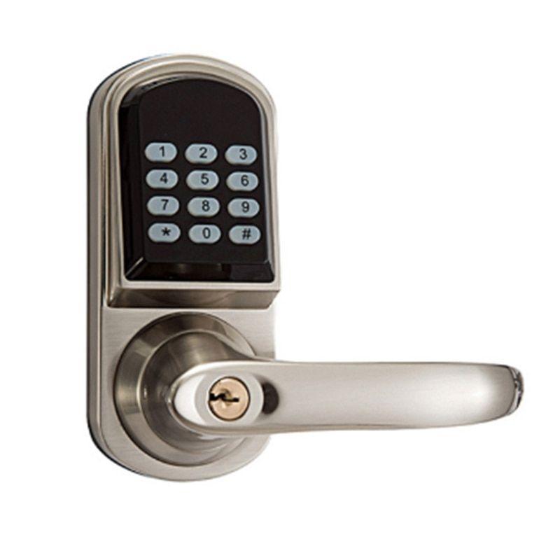 Smart Electronic Door Lock Code Door Lock Mechanical Keys Digital