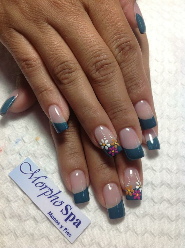 Verde Oscuro In 2020 Fancy Nails Toe Nails Creative Nails