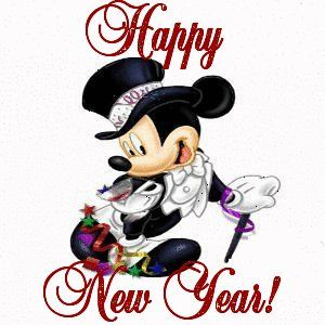 Mickey Mouse Happy New Year
