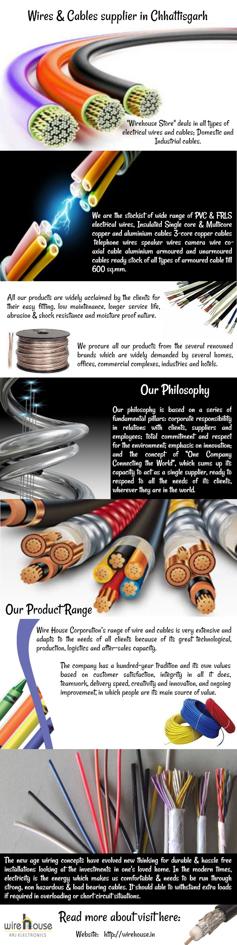 Wirehouse Store deals in all types of electrical wires and cables ...