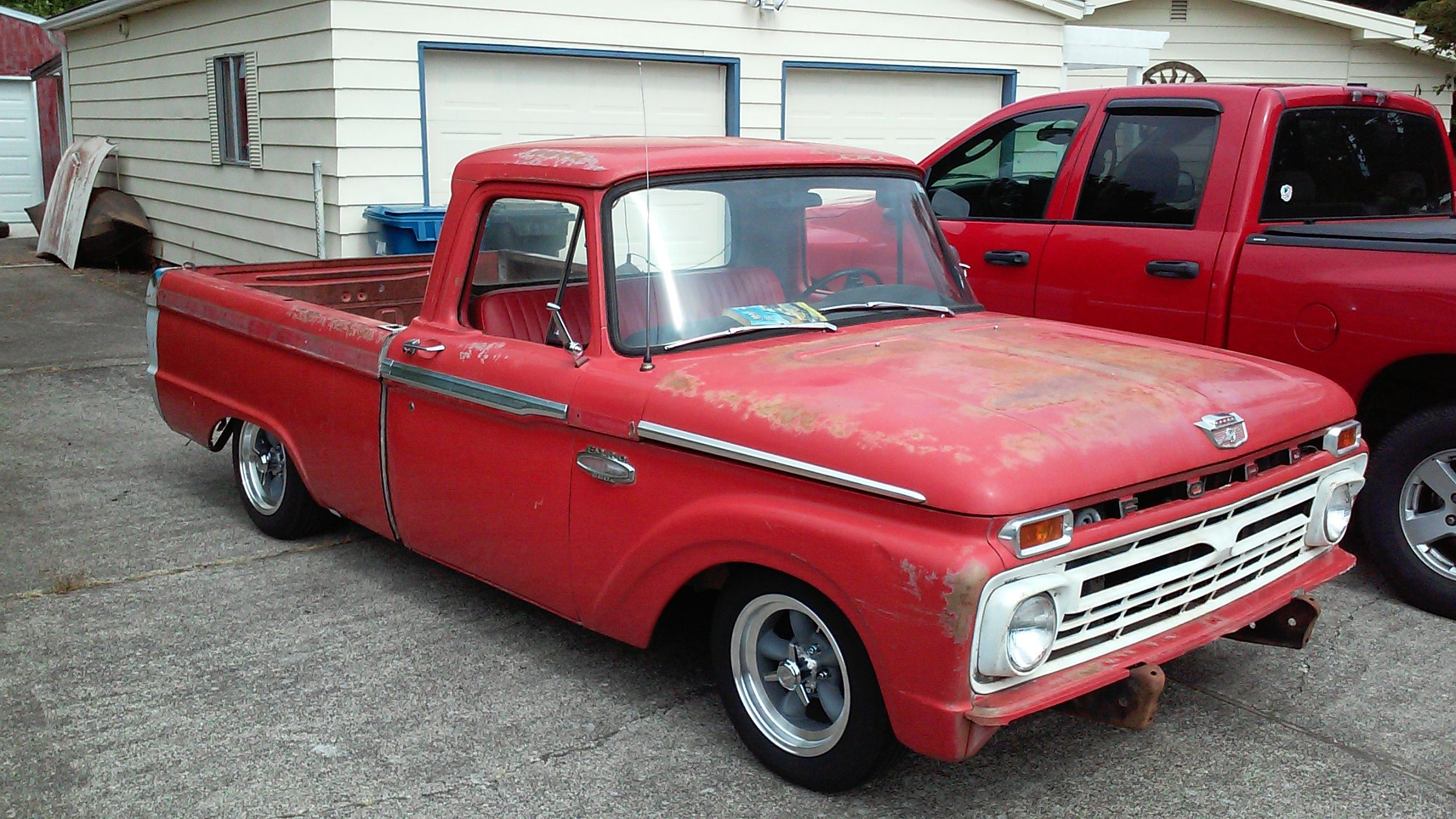 66 Ford Truck On T Bird Irs And Mustang Ii Ifs With Images