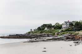 Many of the 200 or so homes on the rocky peninsula of Prouts Neck, Maine, have been in the same families for generations.