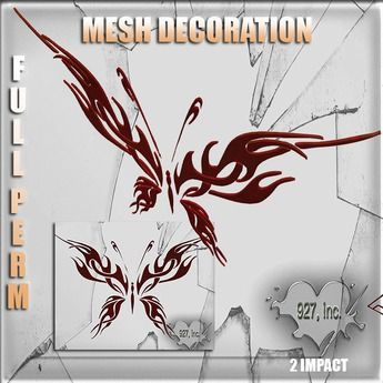 Mesh Butterfly 2 impact Full perm