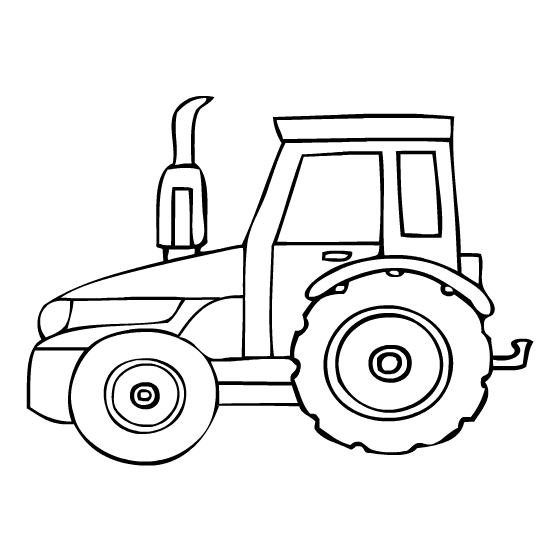 Luxury Coloring Pages Tractor Composition - Ways To Use Coloring ...