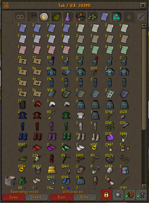 Loot From 400 Hard Clues 20k Mag Imps 2007scape Clue Old School Runescape Loot
