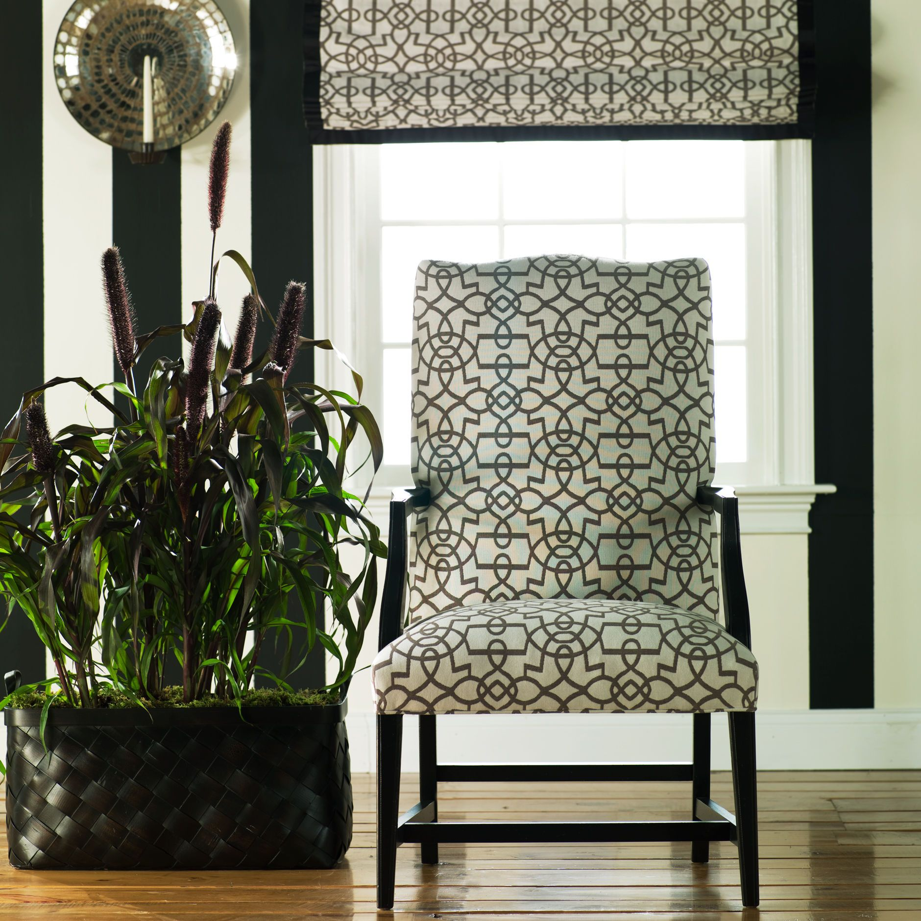 edgy furniture. Black And White Furniture. Ethan Allen Martha Washington Chair. Edgy Furniture T
