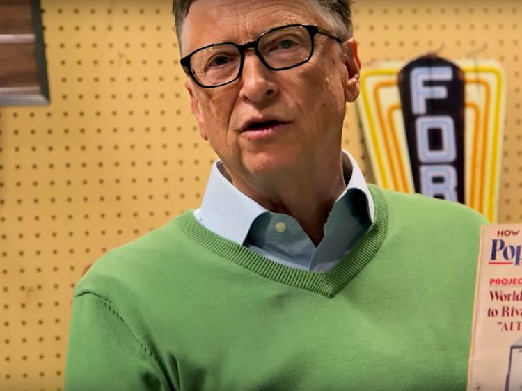Bill Gates Says His Level Of Happiness Is Much Higher At