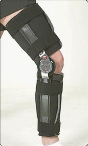 c982e85f76 Bledsoe Merit OR Knee Brace | Post Op Hinged Knee Support, Cool Foam  (padding