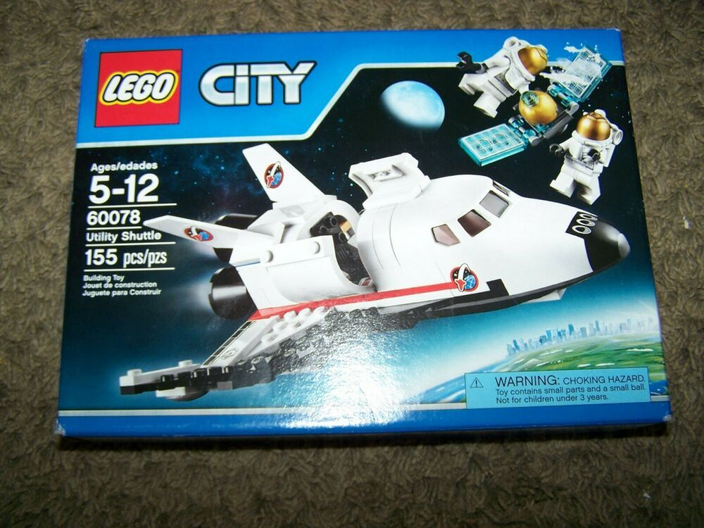 Lego City Set 60078 Utility Shuttle Retired Space 2015 Afflink Contains Affiliate Links When You Click On Links To Lego City Sets Lego City Lego City Space