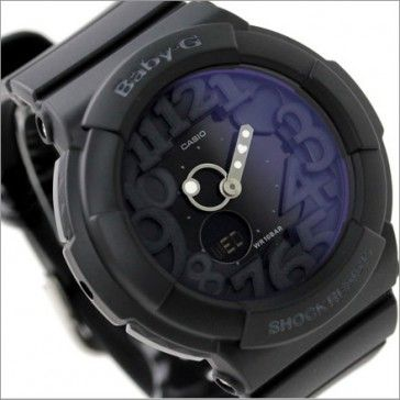 ab52c78341f4 BUY Casio Baby-G Black Neon Illuminator Alarm Watch BGA-131-1B BGA131 - Buy Watches  Online