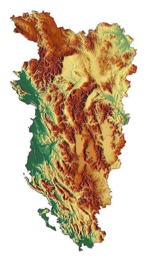 Albania Maps Albanien