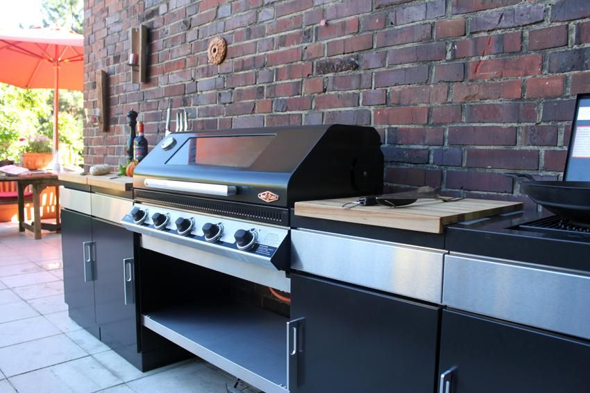 Beefeater Einbautür Für Außenküchen : Beefeater discovery gasgrill beefeater discovery gas grill