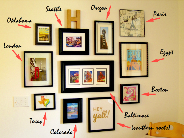 gallery wall black frames - Google Search | AMM House | Pinterest ...