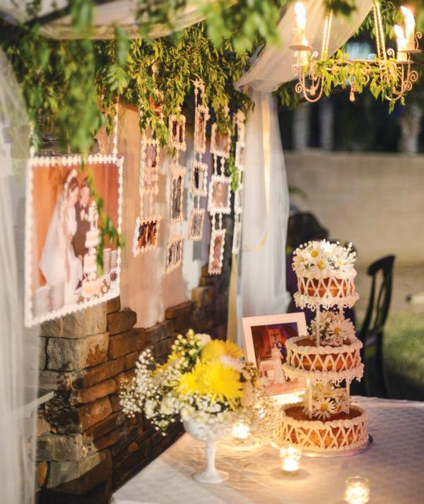 Ideas For A 40th Wedding Anniversary Party: 40th Wedding Anniversary {Backyard Garden Party}
