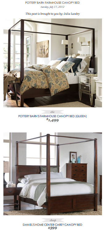Pottery Barn Farmhouse Canopy Bed Vs, Daniels Home Furniture