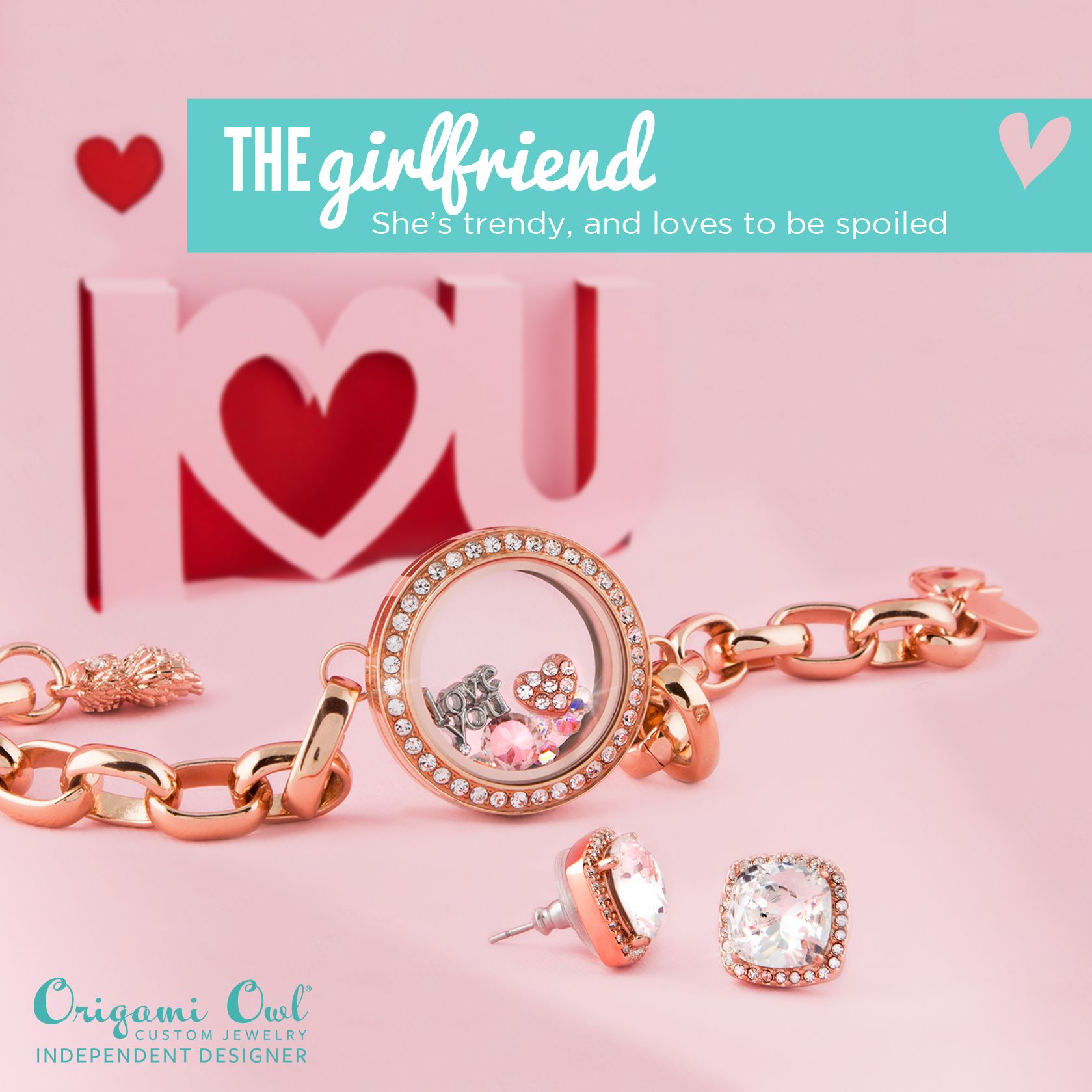 Beautiful valentines day gift for your girlfriend from origami beautiful valentines day gift for your girlfriend from origami owl custom jewelry follow maggie stephens jeuxipadfo Images
