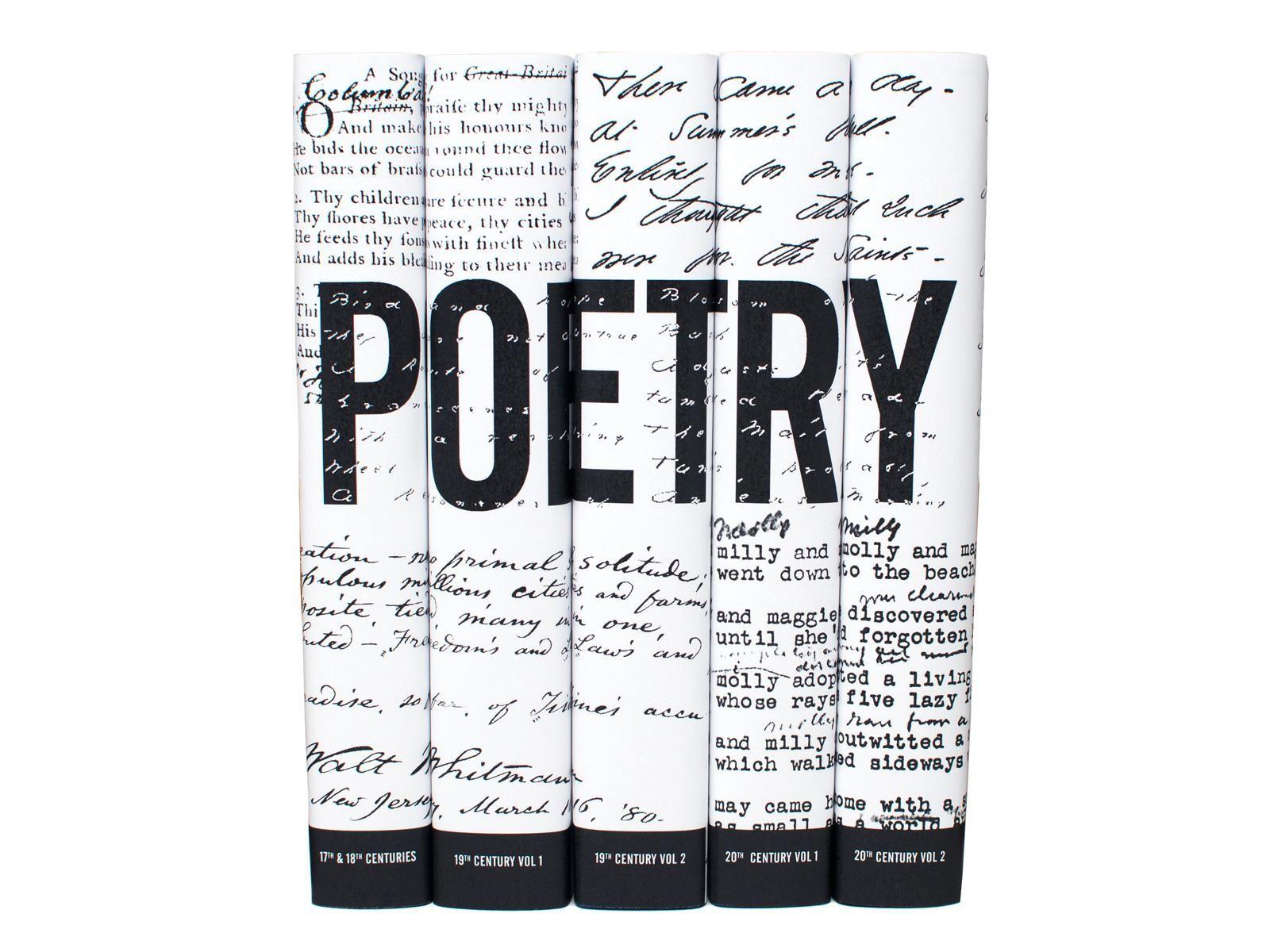 American Poetry Book Set American poetry, Poetry books