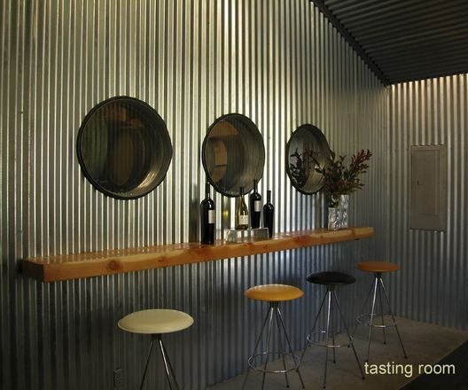 corrugated aluminum wall panels inside warehouse - Google ...