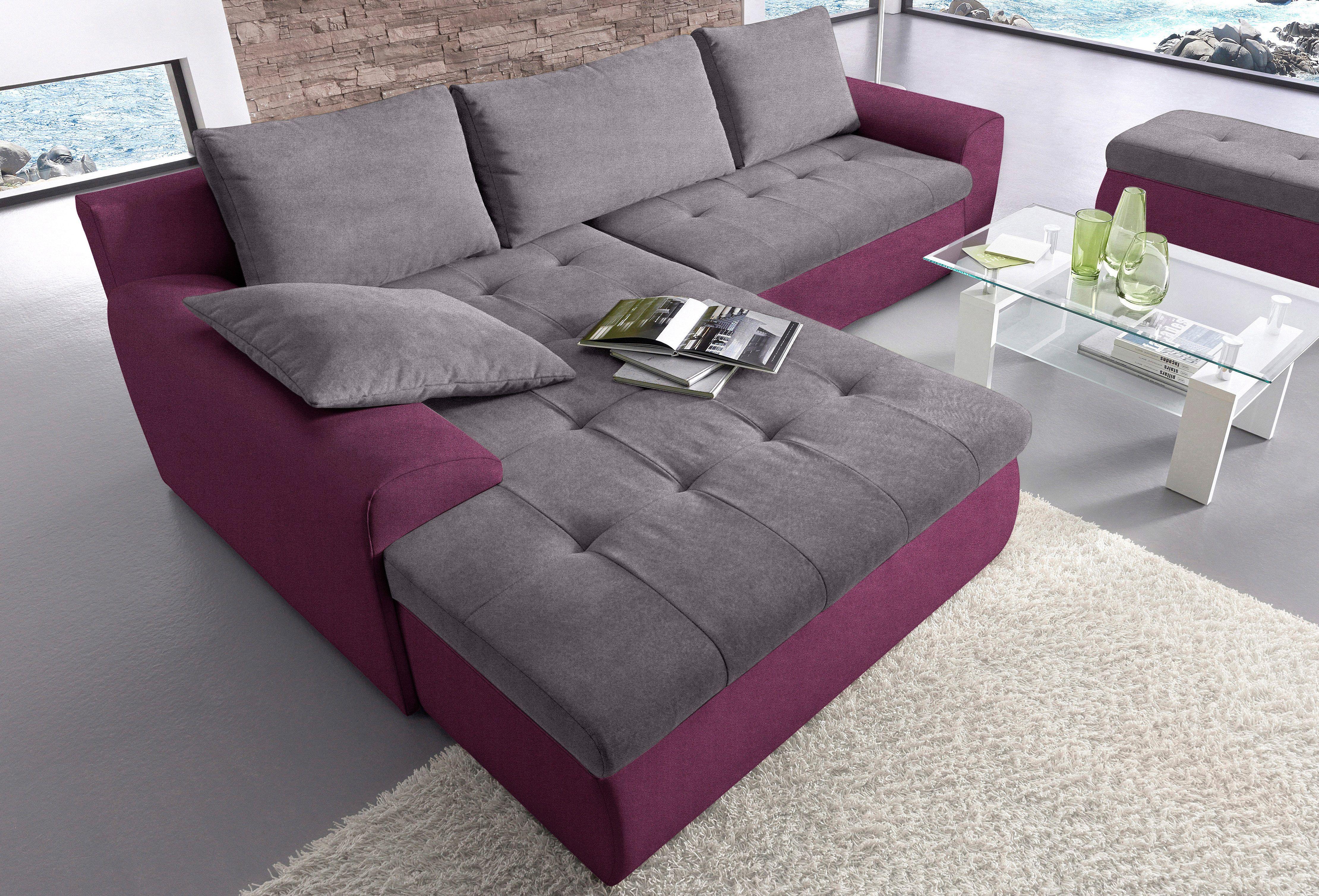 Eitelkeit Sofa Mit Recamiere Referenz Von Sit&more Ecksofa Grau, Links, Bettkasten, Fsc®-zertifiziert Jetzt