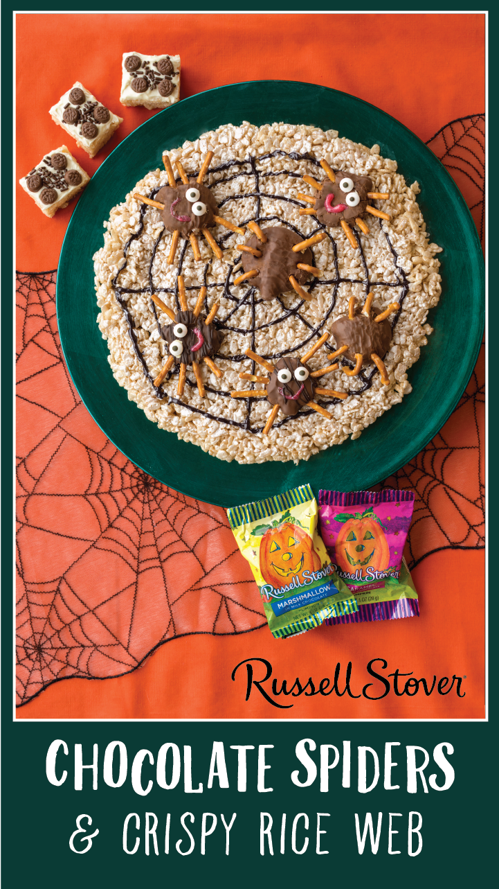 use your favorite russell stover chocolate pumpkin singles as the