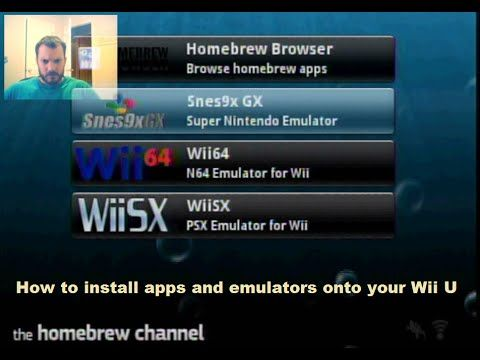 How to play old games on your Wii U like snes nes gameboy