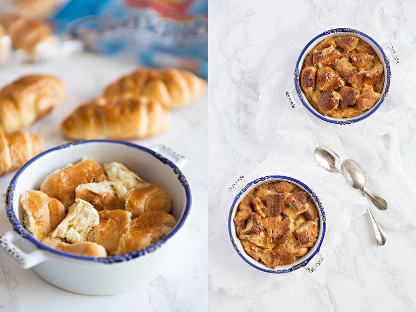 Pudin de Croissant - Dulcesol