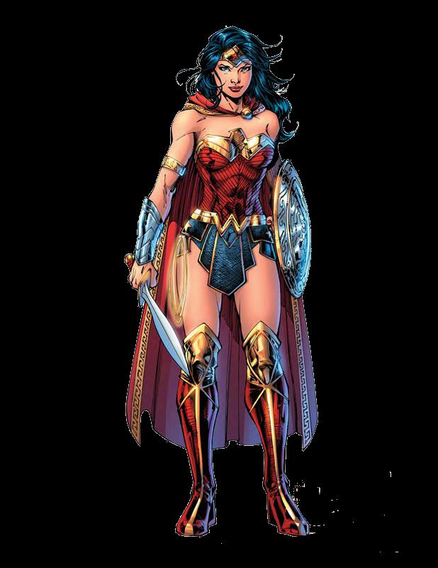 Wonder Woman Comic Png Render Fantasia De Super Heroi Dc Rebirth Batman Mulher Maravilha