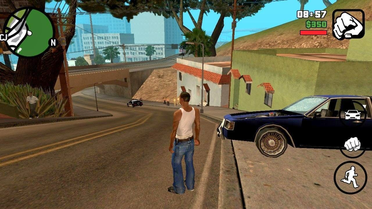 Grand Theft Auto Sanandreas Android Game Apk Data Download With