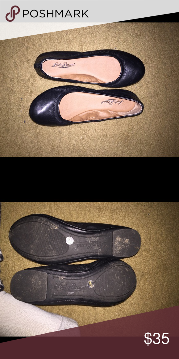 a111f6ffe Lucky Brand black flats As pictured Lucky Brand Shoes Flats & Loafers