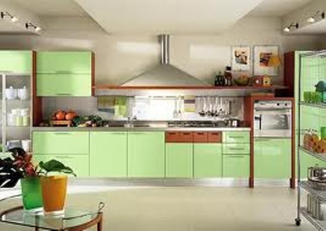 Simple Kitchen Interiors the modern indian kitchen interior design | most elegant homes