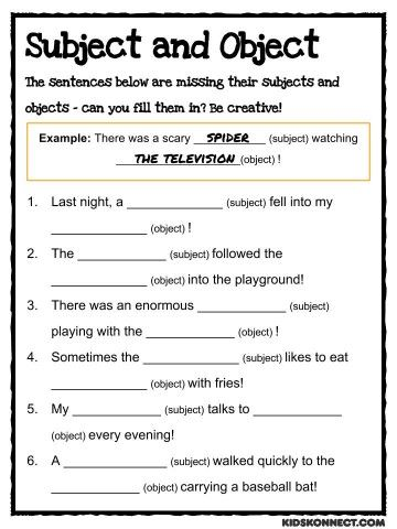 Subject and object pronouns speaking activities pdf