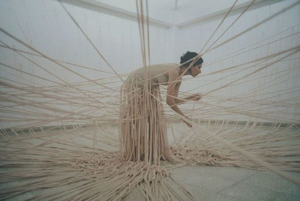 Palace of Tears performance, 2001 // Nelly Agassi