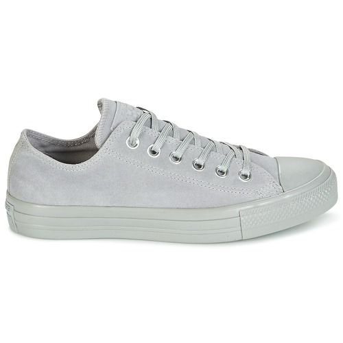 15eae4bde6499 Chaussures Femme Baskets basses Converse CHUCK TAYLOR ALL STAR MONO PLUSH  SUEDE OX DOLPHIN DOLPHIN