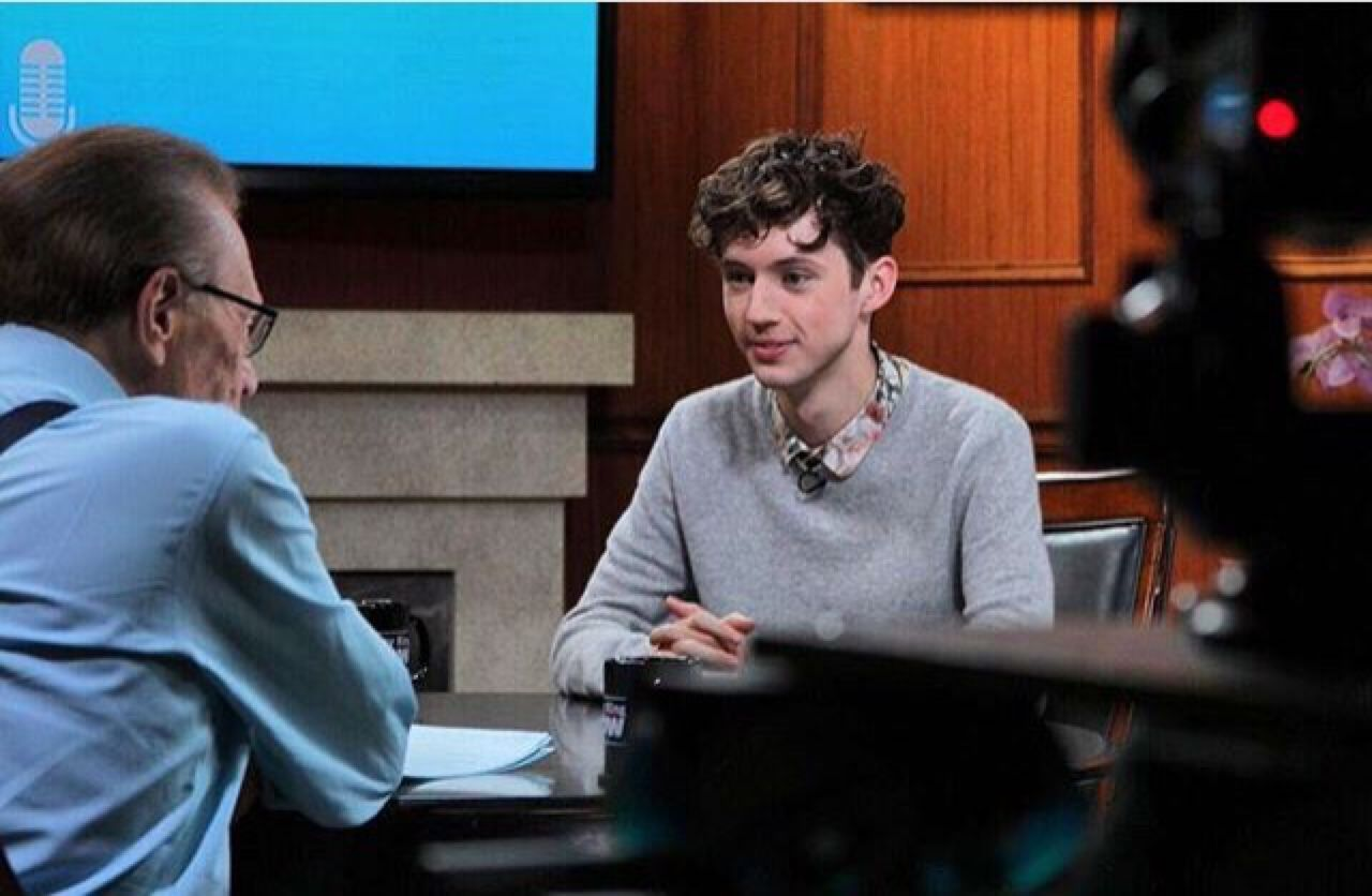 Troye on Larry King