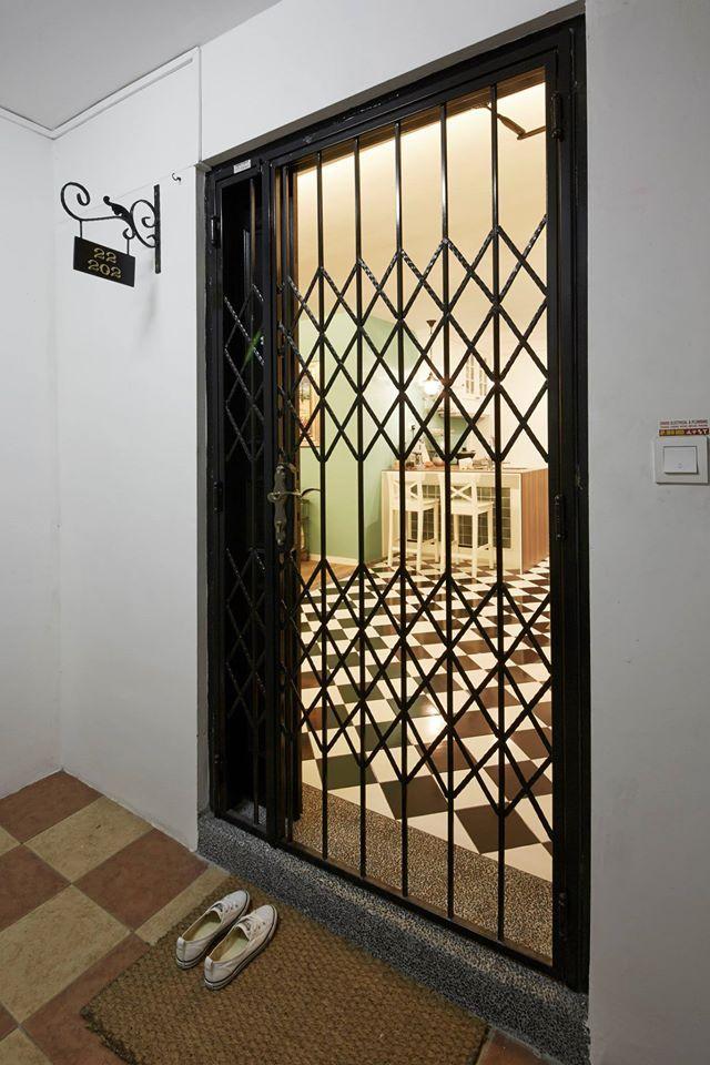 108b Mcnair Road Modern Hdb Interior Design Door
