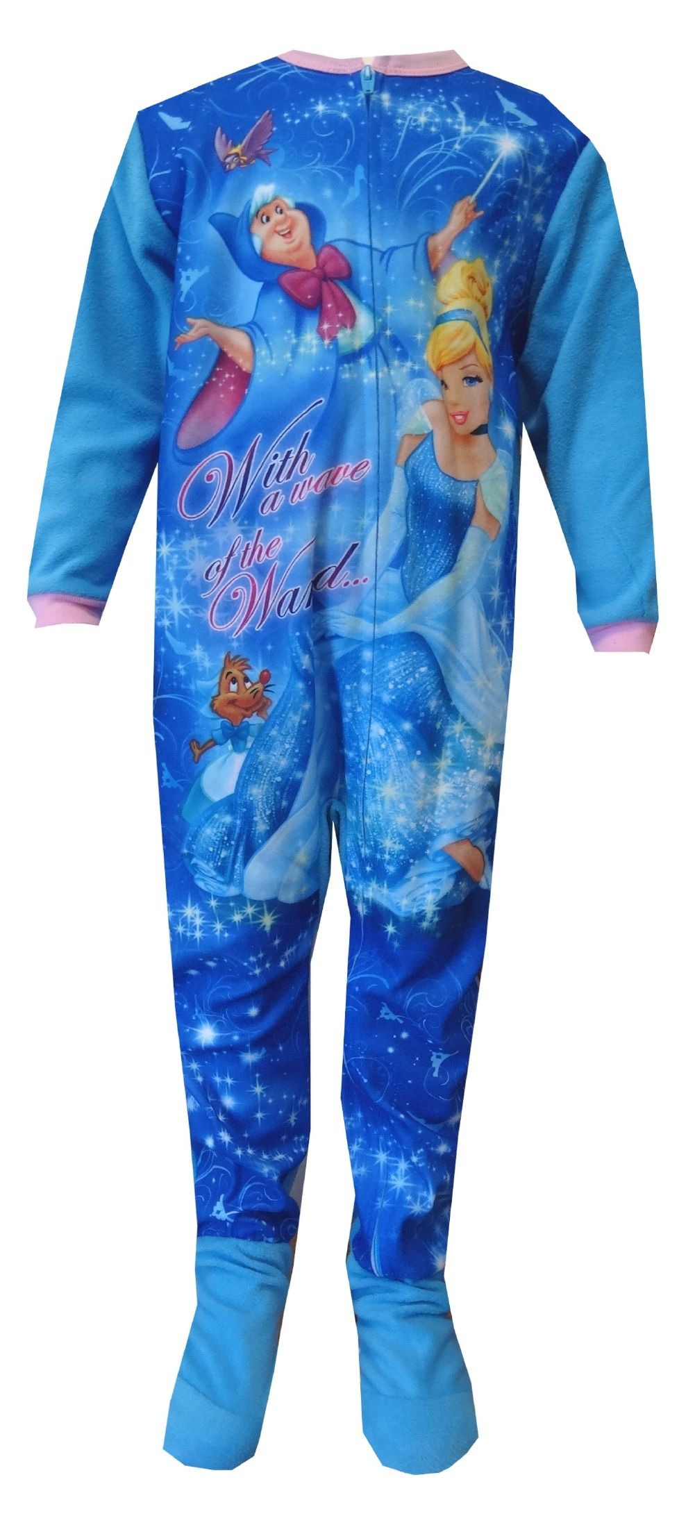 Disney Princess Cinderella Toddler Footie Pajama Sleeper Perfect ...