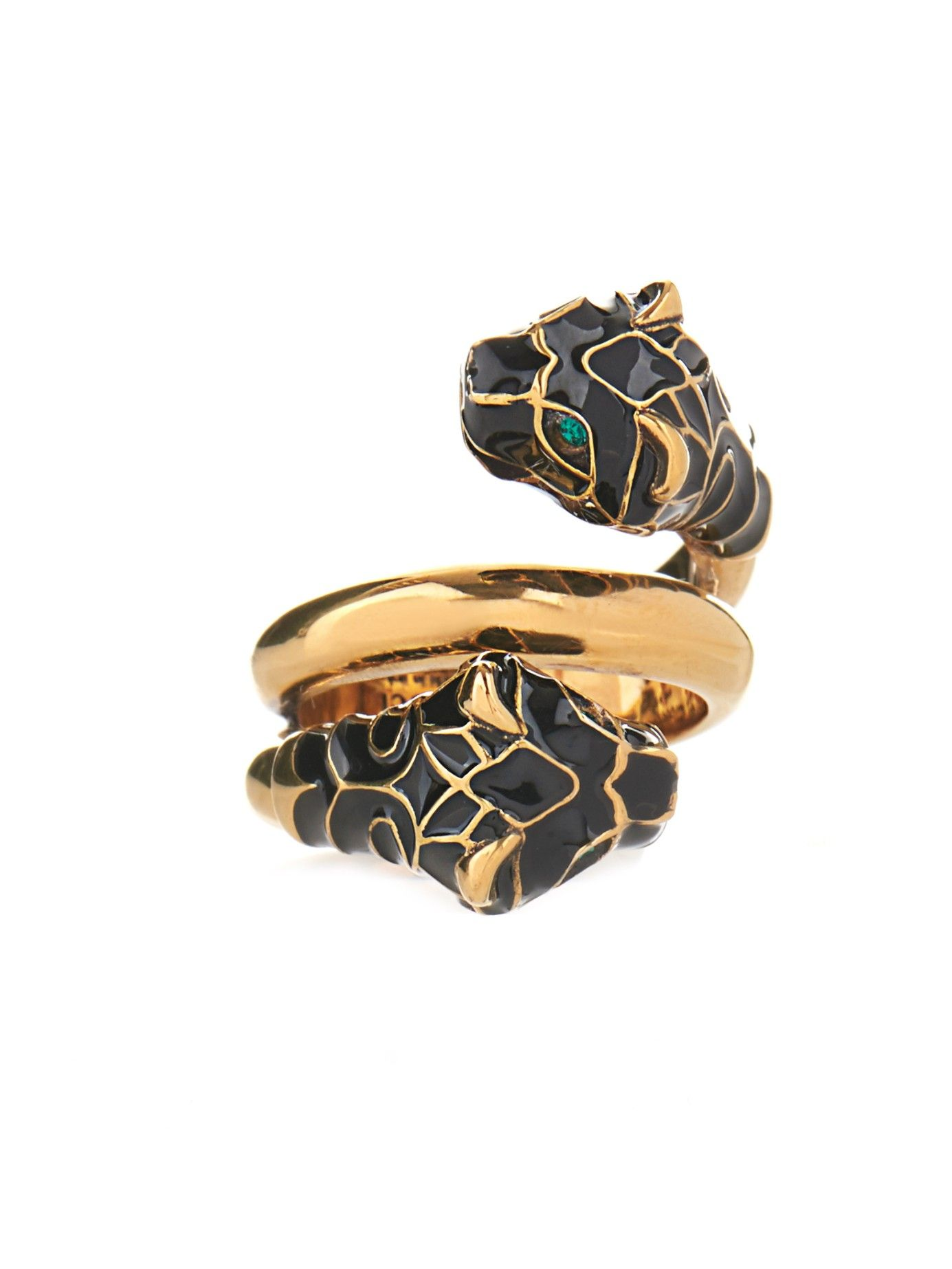 48a780976 Tiger Swarovski crystal ring | Gucci | MATCHESFASHION.COM ...