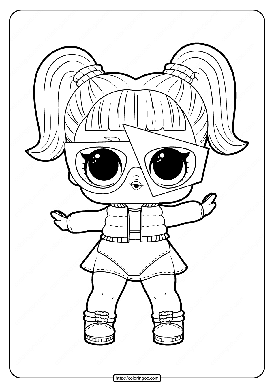 Printable Lol Surprise Glamstronaut Coloring Pages Coloring Pages Cute Coloring Pages Free Printable Coloring Pages