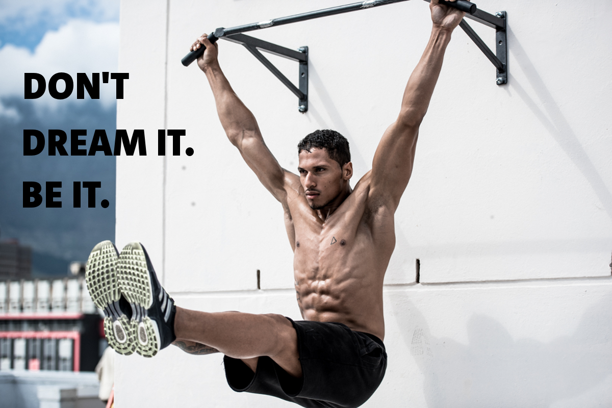 Workout motivation: Achievement requires effort. Period. No one ever achieved anything without putting in a whole lot of hard work along the way. Your life is in your own hands. You are in control and you decide what happens. So decide what you want and prepare to work for it. The sooner you begin, the sooner you will achieve. What will you strive for? Join the movement ►►►www.freeletics.com
