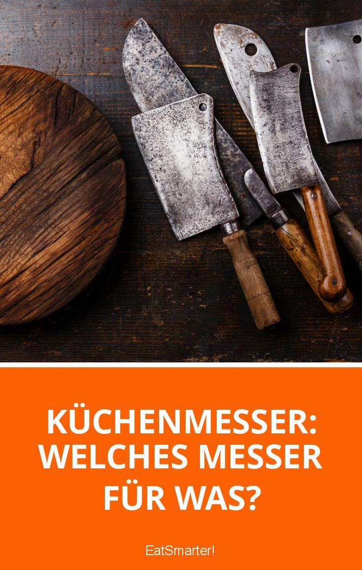 Küchenmesser: Welches Messer für was? | Küchenmesser, Messer und Eat ...