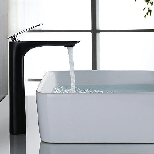 Armatur Bad homelody schwarz design bad armatur in bad für waschbeck ein