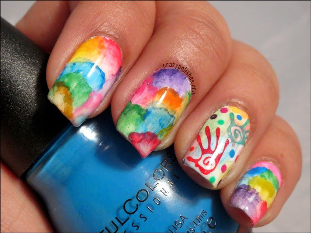 Crazy Polishes Nail Arts Swatches Reviews For This Mani I Used