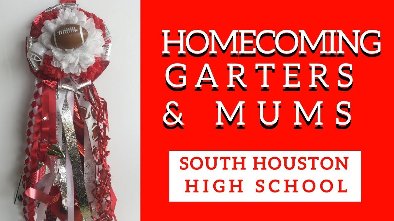 South Houston Homecoming Mums Garters Boutonnieres For High