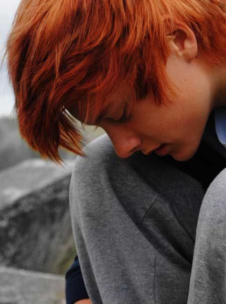 Dyed Red Hair Men Mens Red Hair Colour Caiden Ravensdale Red